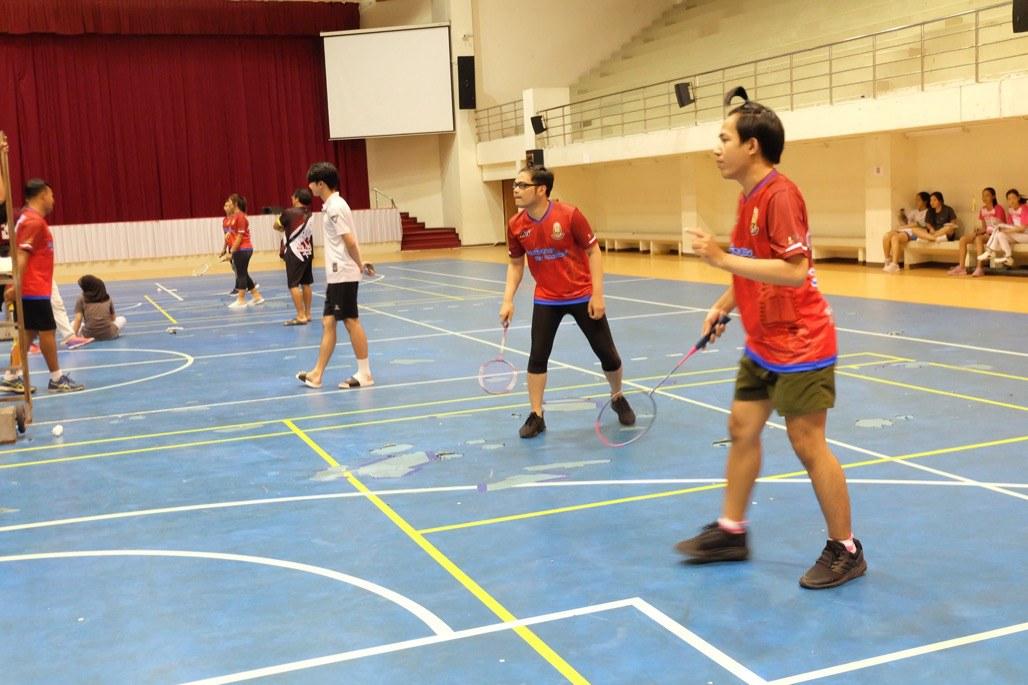 โครงการกีฬาเพื่อสุขภาพชาว ม.หาดใหญ่ ประจำปีการศึกษา 2563